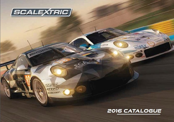 Catalogue Scalextric 2016