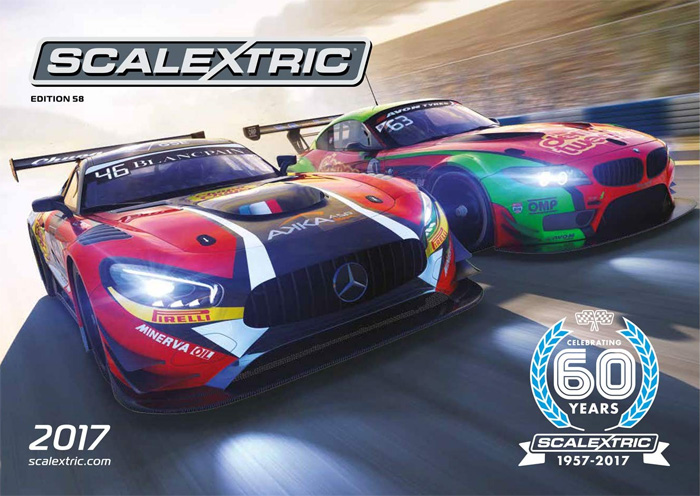 Catalogue Scalextric 2017