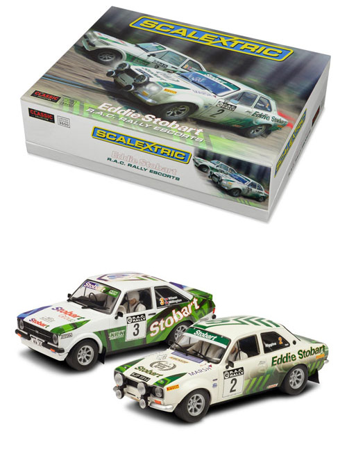 Eddie Stobart RAC Rally Ford Escort MkI and Ford Escort MkII Limited Edition -C3369A