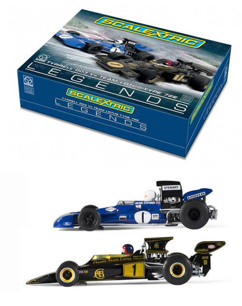 C3479A - Legends Tyrrell 003 and Lotus 72E Limited Edition
