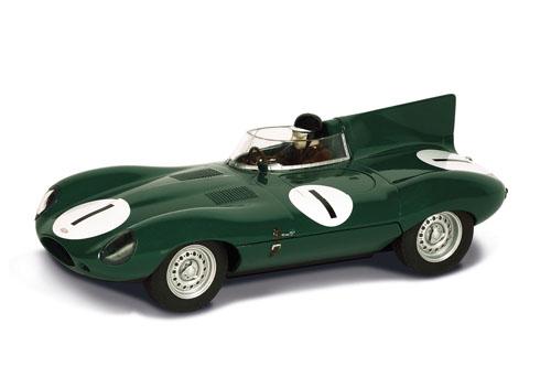 Jaguar Type D Dunrod 1955 Hawthorn – C3488