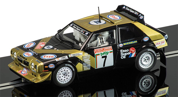 Scalextric Lancia Delta S4 - Fabrizio Tabaton, 1986 Rally San Remo