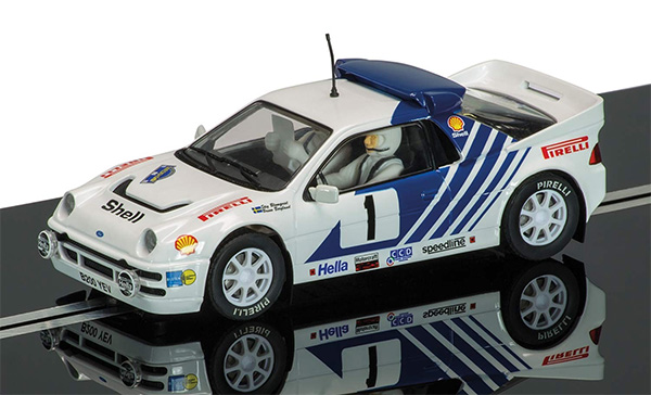Scalextric Ford RS200 - Stig Blomqvist, Rally Sweden 1986