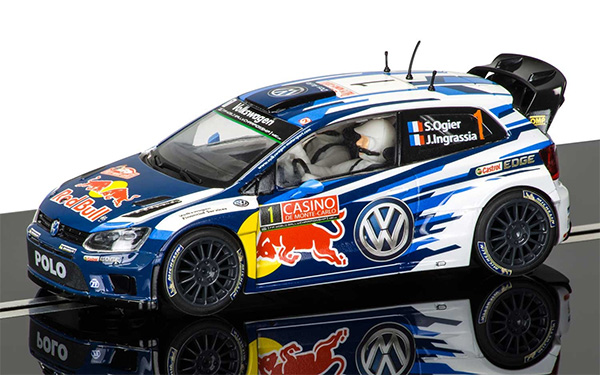 Scalextric Volkswagen Polo WRC - Rallye Monte Carlo 2015