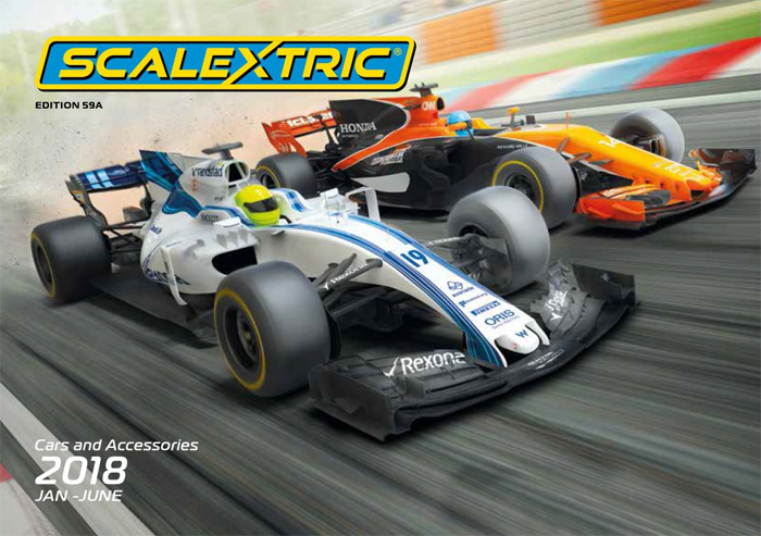 Catalogue Scalextric 2018